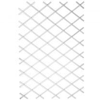 Nature Tuinlatwerk 50x150 cm PVC wit 6040701