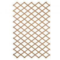 Nature Latwerk voor tuin 100x200 cm natuurlijk hout 6041703