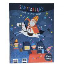 Sinterklaas Kleur- en Spelletjesboek + Stickers