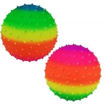 Regenboog Noppenbal 23 cm