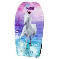 Wave Breakers Bodyboard met Paarden Print 93 cm