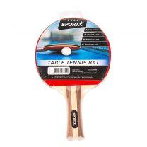 SportX 4 Sterren Tafeltennisbat Hout/Rubber