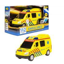 112 Ambulanceauto + Licht en Geluid