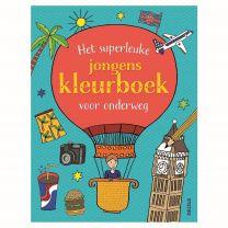 Deltas Het Superleuke Kleurboek voor Onderweg Assorti