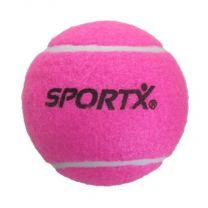 SportX Jumbo Tennisbal L Roze