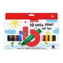 Bruynzeel Mega Point Viltstiften 10 Stuks
