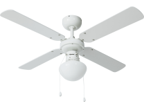 Bestron DHB42W Plafondventilator met Verlichting