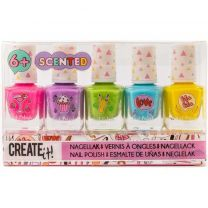 Create It! Geurende Nagellak 5 Kleuren