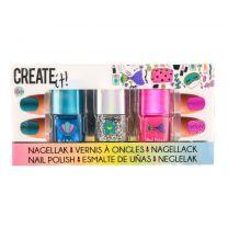 Create It Zeemeermin Nagellak 3 Stuks