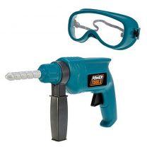 Power Tools Boor + Veiligheidsbril