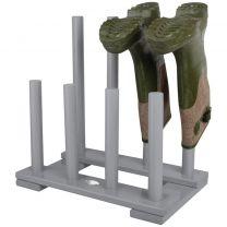 Esschert Design laarzenrek (grijs) CF48G
