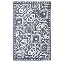 Esschert Design Buitenkleed ruit 182x122 cm