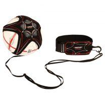 Avento Voetbalvaardigheidstrainer Zwart/Grijs/Rood