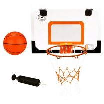 New Port mini basketbalbord met ring, bal, pomp 16NA