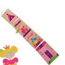 Simply for Kids Houten Groeimeter Prinses