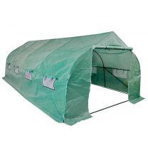 Tuinkas walk-in draagbare polytunnel met stalen frame 18 m