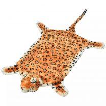 Luipaardvloerkleed pluche 139 cm bruin