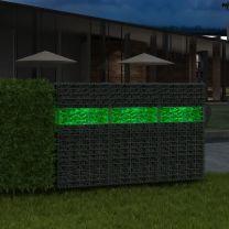 Gabion stenen 25 kg groen 60-120 mm glas