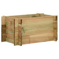Plantenbak 40x40x32 cm gempregneerd grenenhout