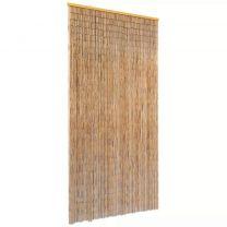 Vliegengordijn 90x220 cm bamboe