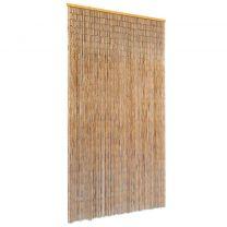 Vliegengordijn 100x220 cm bamboe