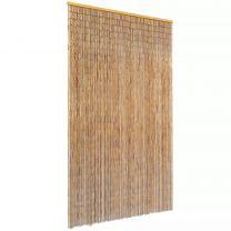 Vliegengordijn 120x220 cm bamboe
