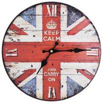 Keukenklok vintage-stijl 30 cm UK