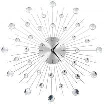 Wandklok met quartz-mechanisme 50 cm modern ontwerp