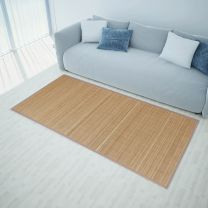 Tapijt 160x230 cm bamboe bruin