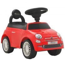 Loopauto Fiat 500 rood