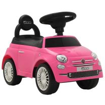 Loopauto Fiat 500 roze