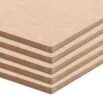 MDF platen vierkant 60x60 cm 12 mm 8 st