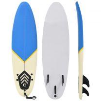 Surfboard 170 cm blauw en crme