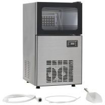 IJsblokjesmachine 420 W 45 kg/24 u zwart