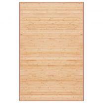 Tapijt 100x160 cm bamboe bruin
