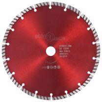 Diamantzaagblad met turbo 230 mm staal
