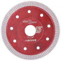 Diamantzaagblad met gaten 115 mm staal