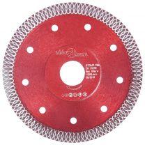 Diamantzaagblad met gaten 125 mm staal