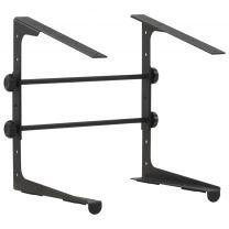 Laptopstandaard 30,5x28x(24,5-37,5) cm staal zwart