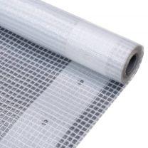 Leno dekzeil 260 g/m 2x6 m wit