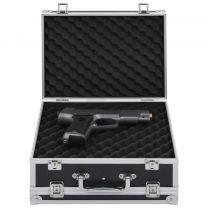 Wapenkoffer aluminium ABS zwart