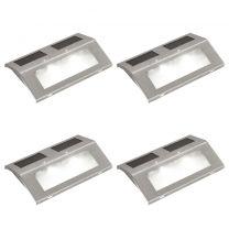 Solar trappen lamp (4 stuks)