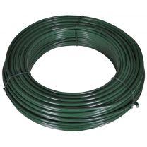 Hekspandraad 55 m 2,1/3,1 mm staal groen