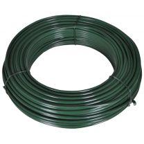 Hekspandraad 80 m 2,1/3,1 mm staal groen