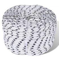 Boottouw polyester gevlochten 12mmx50m