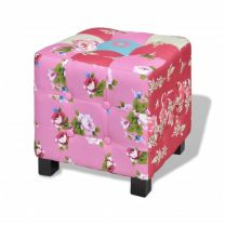 Hocker patchworkmotief