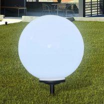 Buitenverlichting op zonne-energie (balvormig) LED 50 cm (1 st)