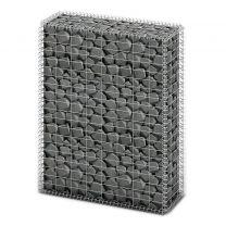 Schanskorf met deksels 100x80x30 cm gegalvaniseerd draad