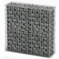 Schanskorf met deksels 100x100x30 cm gegalvaniseerd draad