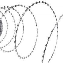 NATO Scheermesprikkeldraad op rol gegalvaniseerd staal 60m